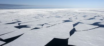 Sea ice on Antarctica Stock Images