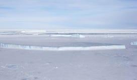 Sea ice on Antarctica Stock Photos