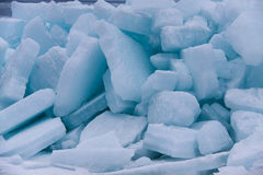 Sea ice. Royalty Free Stock Photos