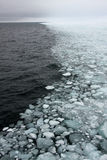 Sea-ice edge Stock Photo