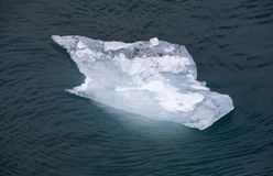 Sea ice. Float on the water Stock Photo