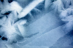 Sea ice pattern Royalty Free Stock Images