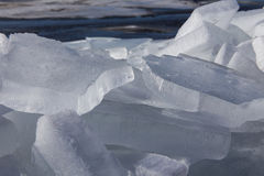 Sea ice in the spring Stock Photos