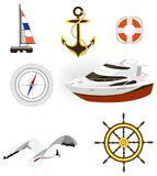 Sea icon Stock Photos