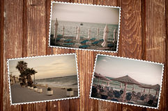 Sea images from 60's Royalty Free Stock Images