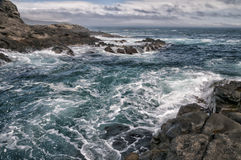 Free Sea In Tempest On Rocks Royalty Free Stock Photo - 35699315