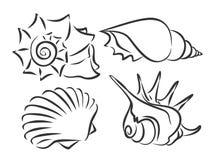 Sea inhabitants Royalty Free Stock Image