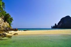 Sea and Island Stock Image