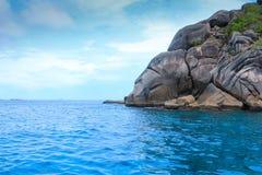 Sea island beach Royalty Free Stock Image