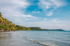 Sea and island beach Royalty Free Stock Photos