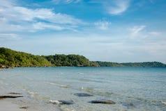 Sea and island beach Stock Image