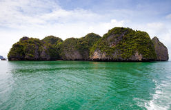 Sea island. Phang nga. Thailand. Royalty Free Stock Photography