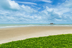 Sea and island in rayong Stock Photos