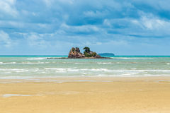 Sea and island in rayong Royalty Free Stock Image