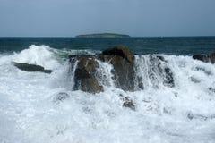 Sea and island 19 Stock Photo