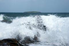 Sea and island 18 Stock Photography