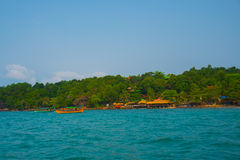 Sea and Islands in Cambodia. Royalty Free Stock Photography