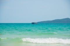 Sea and Islands in Cambodia. Stock Photo