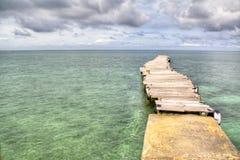 Sea at Islas San Bernardo Stock Images