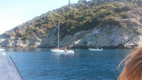 Sea. Italian Sea Liguria Summer water Royalty Free Stock Photography