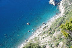 Sea of italy Stock Photography