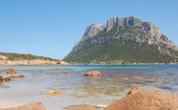 Sea Italy island tavolara Royalty Free Stock Images