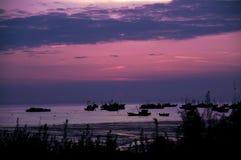 Sea in jiangsu Royalty Free Stock Image