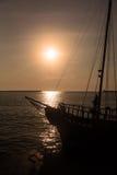 Sea journey Stock Image