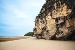 Sea Kaokralok beach Pran Buri in thailand Stock Images