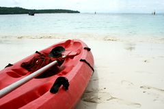 Sea Kayak Royalty Free Stock Photography