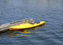 Sea kayak Royalty Free Stock Image