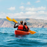 Sea kayak Royalty Free Stock Photo