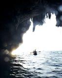 Sea kayaking Royalty Free Stock Photo