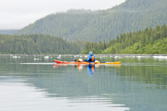 Sea Kayaking Royalty Free Stock Photos