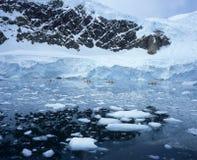 Sea Kayaking in Pack Ice Royalty Free Stock Image