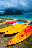 Sea Kayaks Stock Images