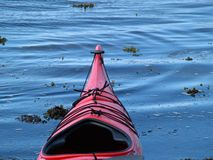 Sea kayaks on the beach Royalty Free Stock Photography