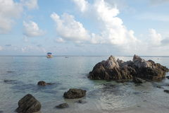 Good morning at Koh Lan Thailand Royalty Free Stock Images