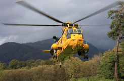 Sea King Helicopter stock images