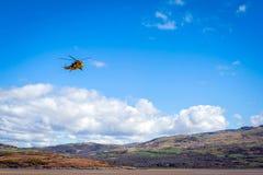 Sea King räddningsaktionhelikopter Arkivfoton