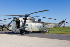 Sea King ratuneku helikopter Fotografia Royalty Free
