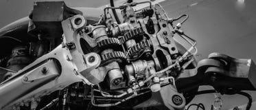 Sea King Rotor Assembly Imágenes de archivo libres de regalías