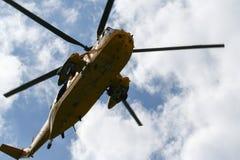 Sea King Search och räddningsaktionhelikopter royaltyfri fotografi