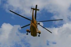 Sea King Search och räddningsaktionhelikopter arkivfoto