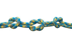 Sea knot. Royalty Free Stock Photography
