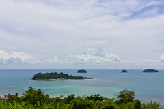 Sea of Koh Chang. Trat, Thailand royalty free stock images