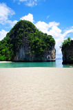Sea in Krabi Royalty Free Stock Photos