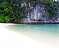 Sea in Krabi Thsiland Royalty Free Stock Photos