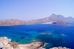 Sea lagoon, Crete Stock Image
