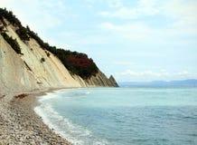 Sea Lagoon near Mountains at beaty day Stock Images